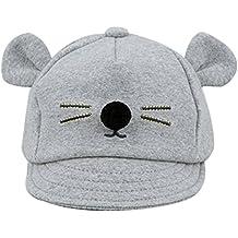 Leisial Gorras de Béisbol Sombrero de Sol con Algodón Modelo del Gato Gorro  de Borde Suave 07aeb884f0b