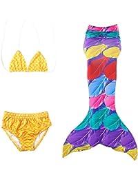 Le SSara 2018 Costume da Bagno Costume da Bagno 3 Pezzi con Costumi da Bagno e Costumi da Bagno in Cotone