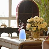 Amir 100ml Colorful Ultrasonic Humidifier Aroma Diffuser, Aromatherapy Essential oil Diffuser Cool Mist Humidifier for Home, Yoga, Office, Spa, Bedroom, Baby Room Bild 2