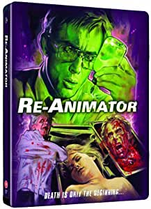 Re-Animator: Limited Edition 2 Disc Steelbook [Blu-Ray]