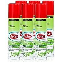 Autan Mückenschutz Tropical Spray 100ml - schützt bis zu 8h vor heimischen und tropischen Mücken (6er Pack) preisvergleich bei billige-tabletten.eu
