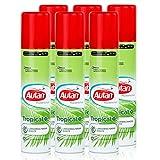 Autan Mückenschutz Tropical Spray 100ml - schützt bis zu 8h vor heimischen und tropischen Mücken (6er Pack)