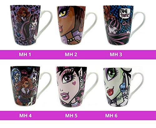 h Lizens Tasse Kaffee Becher Geschenkverpackung Kult Scarry 6 Verschiedene Motive (Motiv MH 2) ()