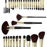 Pennelli makeup, Abody 32Pcs Professional Make Up set di spazzole trucco cosmetico Kit attrezzo trucco Fondazione Eyeshadow Brushes spazzola del sopracciglio della polvere di labbro con il sacchetto