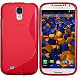 mumbi S-TPU Schutzhülle Samsung Galaxy S4 Hülle rot