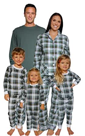 sleepytimepjs pyjamas de noel pour toute la famille carreaux tartan w transat lrge. Black Bedroom Furniture Sets. Home Design Ideas