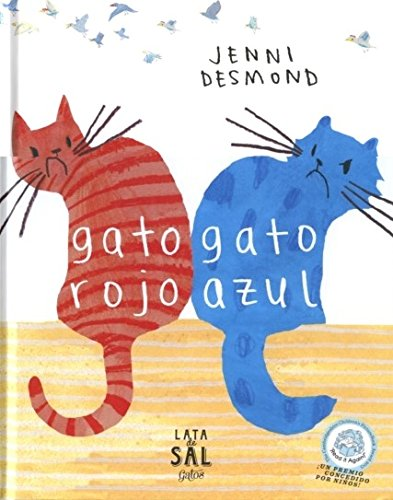 Gato Rojo Gato Azul (COLECCIÓN GATOS) por Jenni Desmond