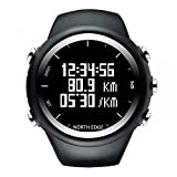 Lixada GPS Uhr Digital sockenuhr Smart Tempo Geschwindigkeit Kalorien Jogging Wandern Sportuhr 50 Mt Wasserdicht