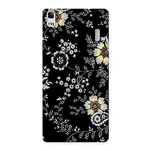 Impressive Classic Flower Back Case Cover for Lenovo K3 Note