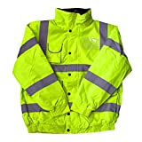 High Visibility Childrens Hi Vis Viz Bomber Jacket Safety Coat All Colours & Sizes