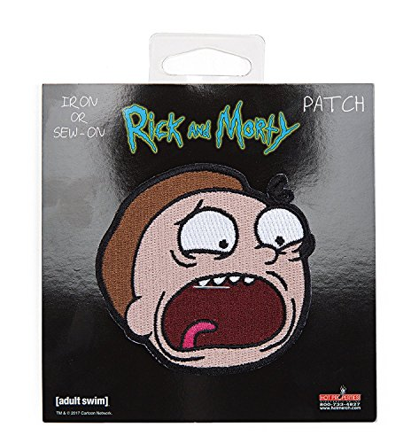 Rick and Morty - Morty Officially Licensed Artwork - Embroidered PATCH