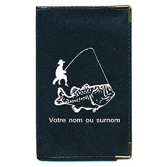 Tasche Schutz Schutzhülle für Kfz-Papiere-Führerschein Fischen Personalisierte mit Ihrem Namen