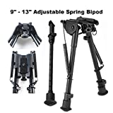 Best Rifle Bipods - KKIWI BS508 Adjustable Spring Loaded Rifle Bipod Review