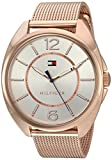 Tommy Hilfiger Quartz Analogue Gold Silver Dial Women's Watch