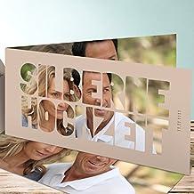 Lustige Einladungskarten Zur Silberhochzeit, Liebe Durch Und Durch 5  Karten, Horizontale Klappkarte 210x100 Inkl