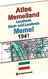 ATLAS Memelland 1941: Landkarte Stadt- und Landkreis MEMEL. Historische Karten Ostpreußen