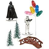Decoración pastel Star Wars - Única