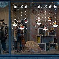 Noël Stickers Muraux,LUCKYCAT Amovibles Mur De Fenêtres 2018 En Vinyle De La Autocollants Maison DéCoration Fond d'écran de Wapiti