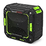 SoundPEATS P2 Bluetooth Speaker portatile ricaricabile Speaker esterno con microfono per iPhone Tablet Computer (Verde)