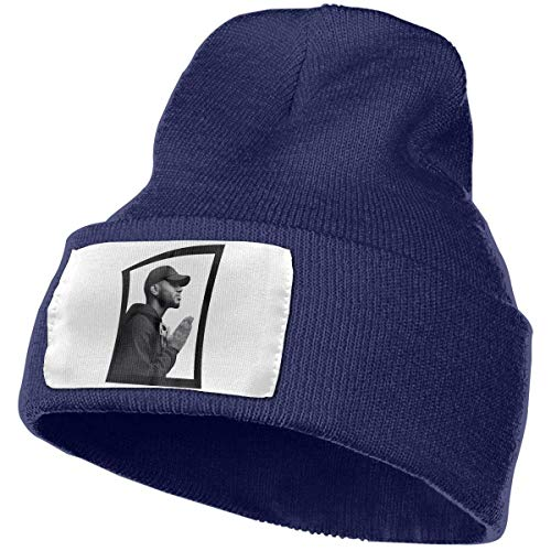 itruty Berretti in Maglia Mens & Womens Bryson Tiller Pray Skull Beanie Hats Winter Knitted Caps Soft Warm Ski Hat Black