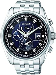 CITIZEN Mens Solar Powered Watch, Analog Display and Stainless Steel Strap AT9031-52L