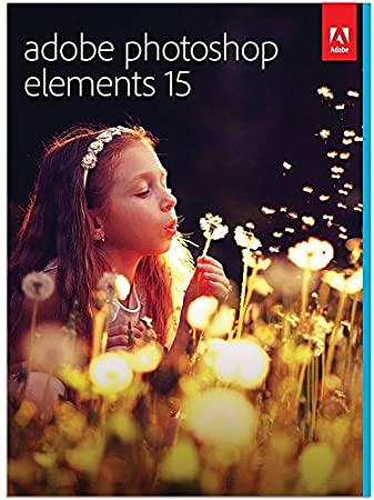 Adobe Photoshop Elements 15 | PC/Mac | Disc