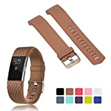 Fitbit Charge 2 Accessory Band Strap - iFeeker 3D Solid Pattern Classic Replacement Soft Silicone Adjustable Replacement Sport Bracelet Strap Watchband for Fitbit Charge 2 Heart Rate and Fitness Wrist Band (Small or Large Size)