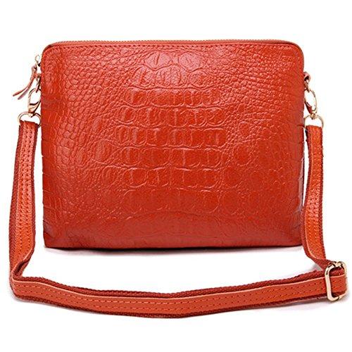 Eysee, Poschette giorno donna Rosso rosso 25cm*20cm*1cm marrone