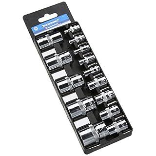 Silverline 675072 Socket Torx Ext E4-E24 - Set of 14