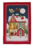 Ulster Weavers Santa Leinen Geschirrtuch, Multicolor