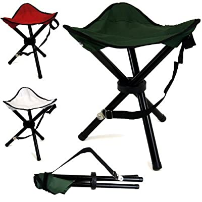 Portable Tripod Camping Hiking Fishing Festival Folding Chair Stool Seat