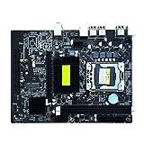 Babysbreath17 X58 Motherboard 1366 Pin ECC-Unterstützungs-L / E5520 X5650 Desktop-Hauptplatine Unterstützt Grafikkarte für PCI-Express 16x