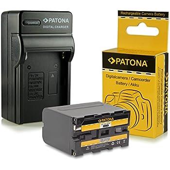 Cargador de batería para Sony DSR d-200 d-800 MVC fd5 fd7 fd51 fd71 fd73