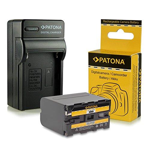3in1 Ladegerät + Akku NP-F970 NPF970 für Sony Camcorder Sony CCD-TR Series | CCD-TRV Series | Sony DCR-TR Series | Sony DCS-CD | Sony MVC-FD Series und weitere...