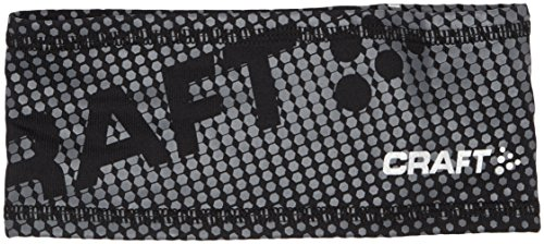 Craft Stirnband Livigno Printed Headband, black, L/XL