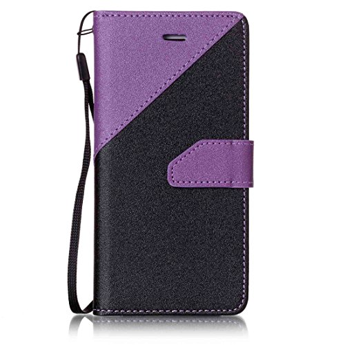 Nancen Apple iPhone 6 / 6S (4,7 Zoll) Hülle PU Leder Tasche Schutzhülle Flip Case Wallet für, Magnetverschluss Standfunktion Brieftasche und Karten Slot , Taschen & Schalen