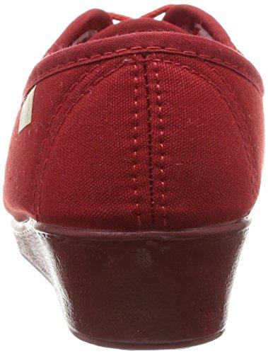 Femme Vrqpwxp Chaussures Ville Bordeaux Rouge Bego De Luxat w0FEqxX