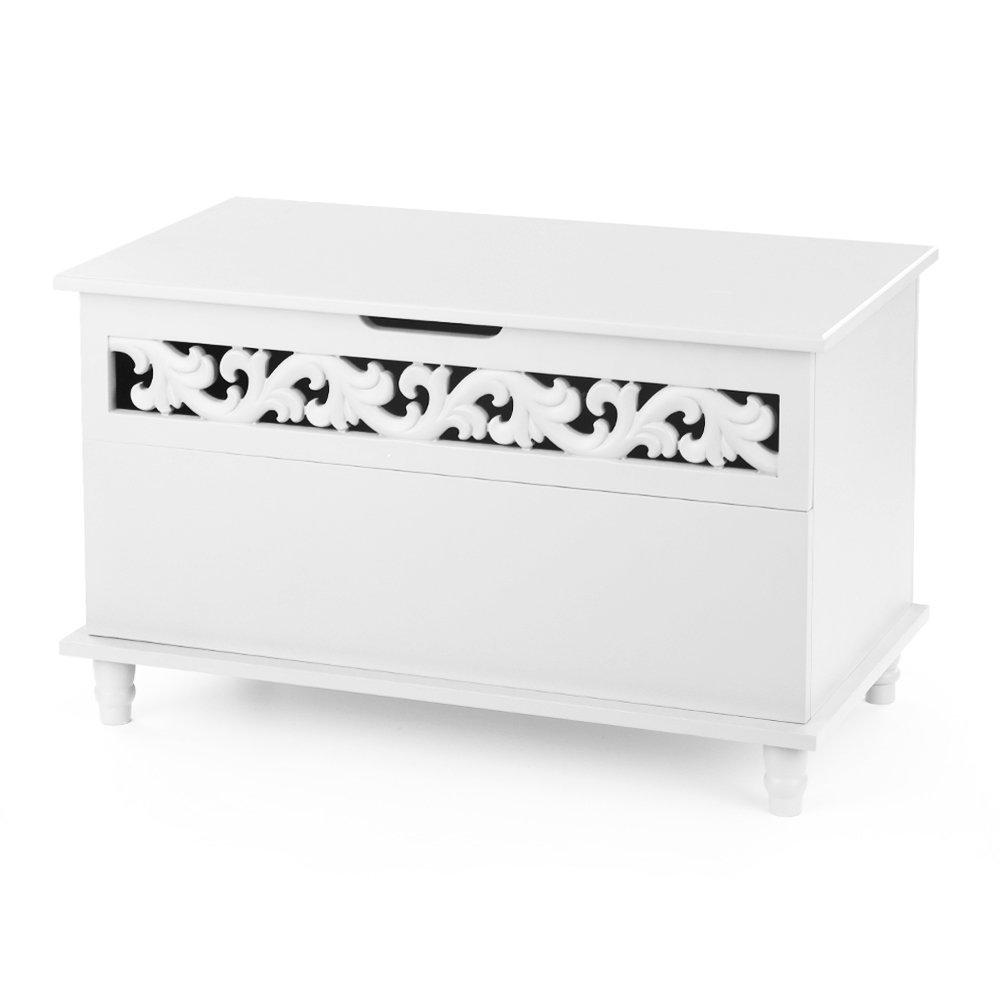 ikayaa coffre jouets grand coffre de rangement salle de bain moderne banc de rangement coffre. Black Bedroom Furniture Sets. Home Design Ideas