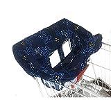 Einkaufswagenschutz für Babys oder Kleinkinder, Faltbare Schutz-Abdeckung für Einkaufswagen und Hochstuhl, Leicht und Kompakt
