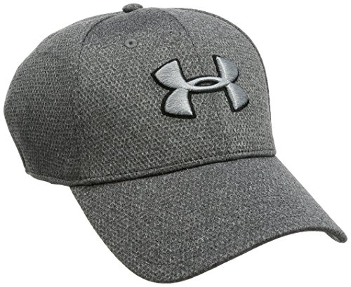 Under Armour Herren Men's Heather Blitzing Cap Kappe, Grau, L/XL