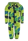 Kanz Jungen Sportswear-Set Schneeanzug m. abnehmbarer Kapuze 1, Gr. 98, Grün (macaw green 5107)