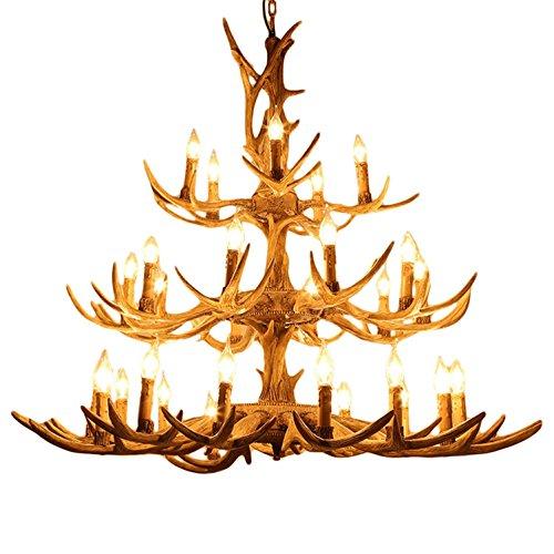 Duplex-Stair-Antlers-Chandelier-Hotel-Creative-Villa-Living-Room-Resin-Antlers-Chandelier-3-Storey-Antlers-30-Head-Candle-Antlers-Ceiling-Lamp-Super-Large-Width-114Cm-High-106Cm