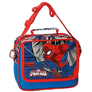 DC Comics Spiderman Bolso Make Up Adaptable El Trolley Bag Bolsos Neceser Vanity Estuche