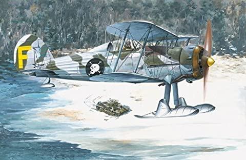 Roden 1/48 Gloster Gladiator Mk.II/J8. Includes # 401 by Roden