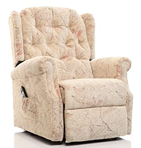 The Oldbury - Riser Recliner / Lift & Tilt Chair in Beige Fabric