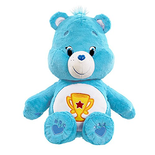 "Image of Vivid Imaginations ""Care Bears Champ Bear"" Plush Toy (Large, Multi-Colour)"