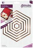 Gemini Nistkasten, quadratisch, Multimedia-Würfel, Metall, Gold, Metall, Gold, 24.6 x 16.8 x 4.8 cm