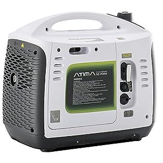 Atima SD2000i Dauerleistung 1600W/Max. Leistung 2000W tragbarer Inverter Benzin-Stromgenerator