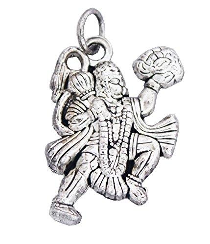 Rich & Famous Elegant Silver Hanuman Pendant  available at amazon for Rs.169