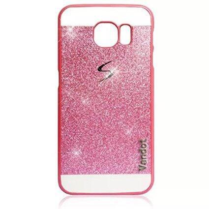 Samsung Galaxy S7 Edge Funda, Vandot Ultra Delgado Thin Bling Glitter Plástico...